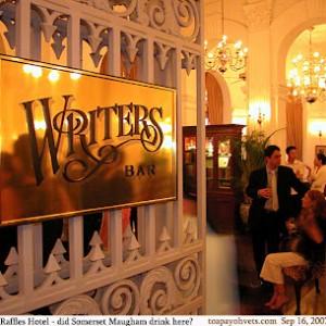 Writer's barr
