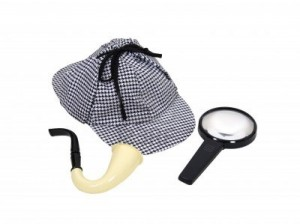 5397711-detective-sherlock-holmes-kit-consisting-of-calabash-pipe-with-meershaum-bowl-magnifying-glass-and-d