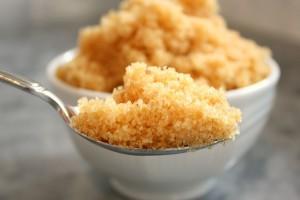 Brown Sugar Spoon Close-up