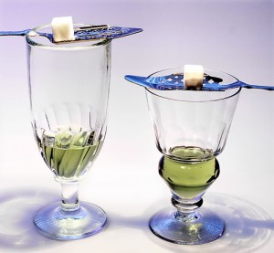 Two-absinthe-glasses